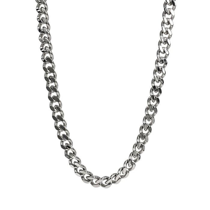DYLAN Halsband blankt stål