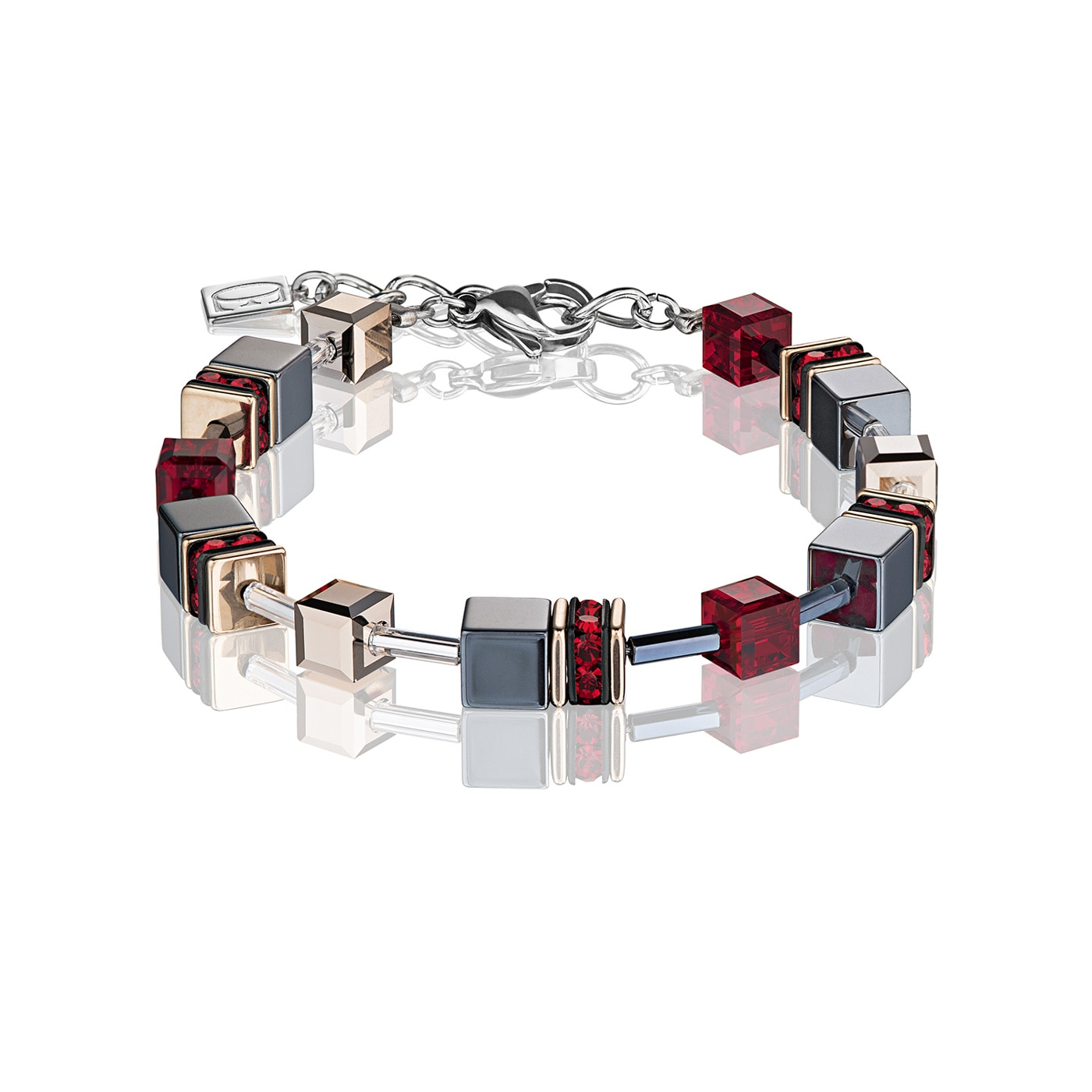 GeoCUBE Bracelet red