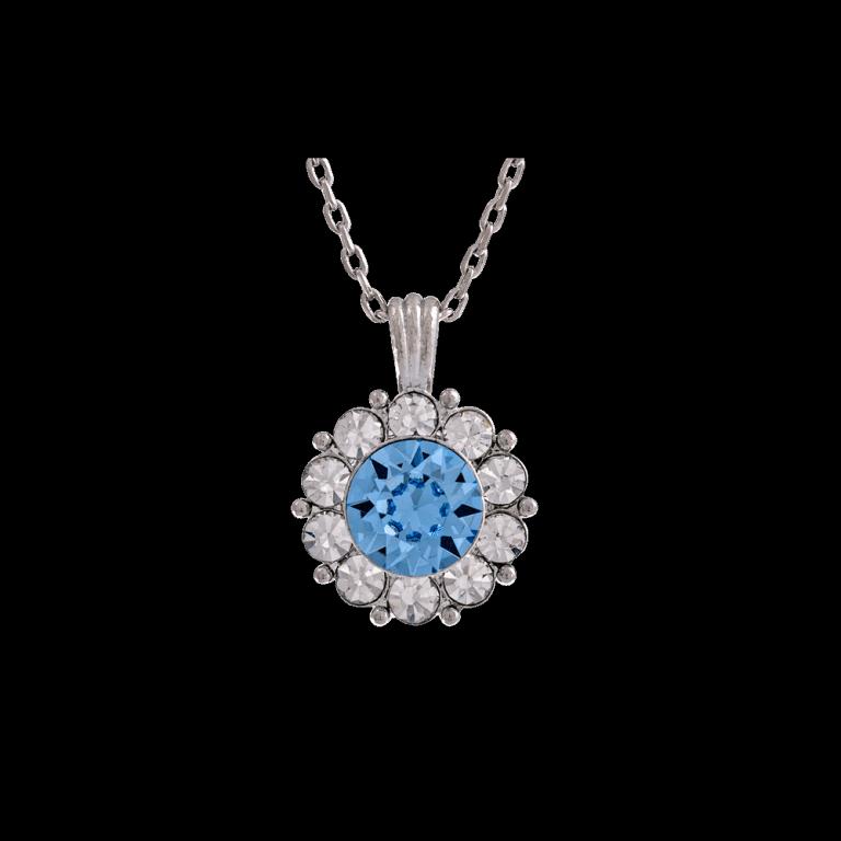 Sofia necklace - Light sapphire