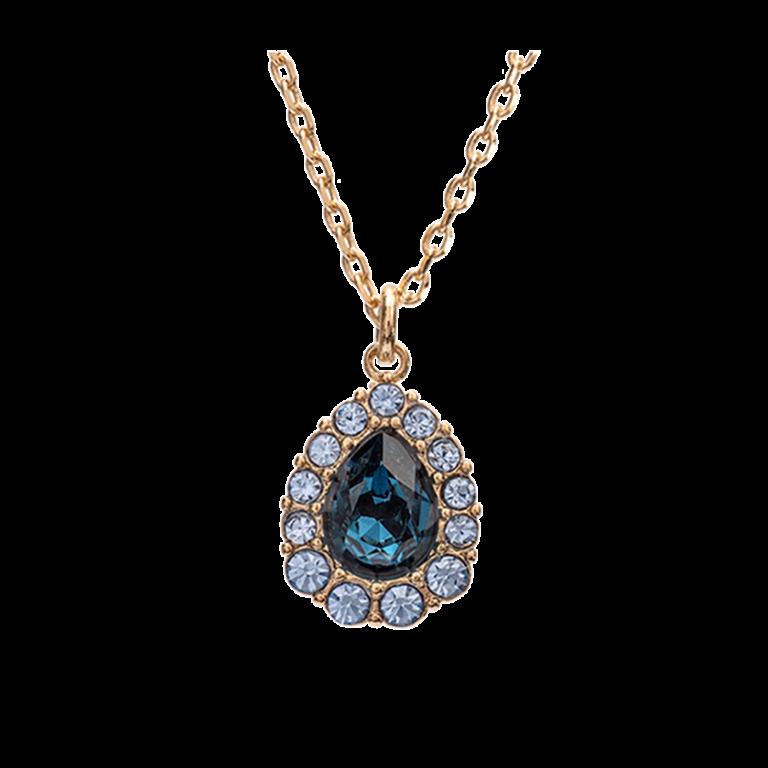 Amelie necklace - Sapphire montana