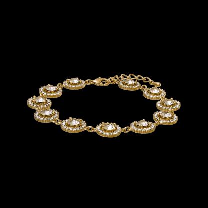 Miranda bracelet - Light silk