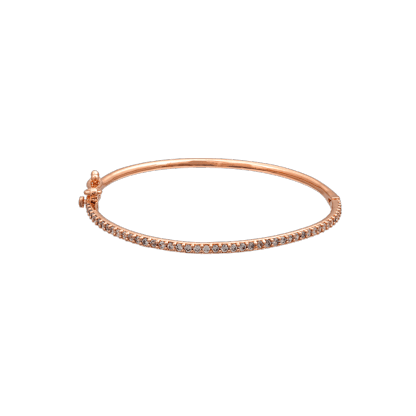 Kennedy bracelet - Crystal (Rose gold)
