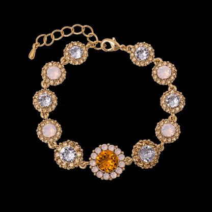 Sienna bracelet - Topaz rose