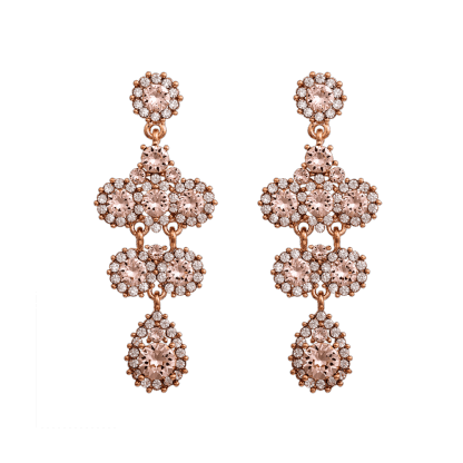 Miss Kate earrings - Silk (Rose gold)