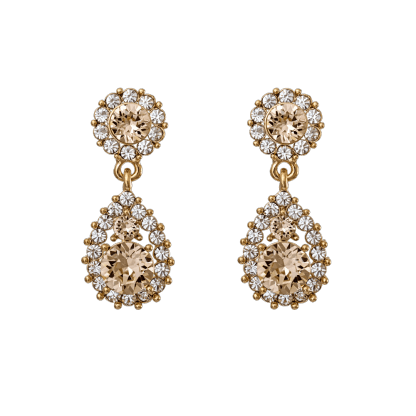 Sofia earrings - Light silk