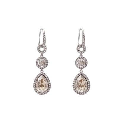 Amy earrings - Crystal
