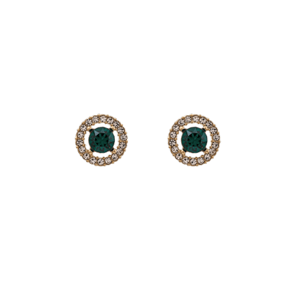 Miss Miranda earrings - Emerald