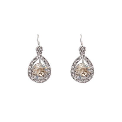 Emmylou earrings - Crystal