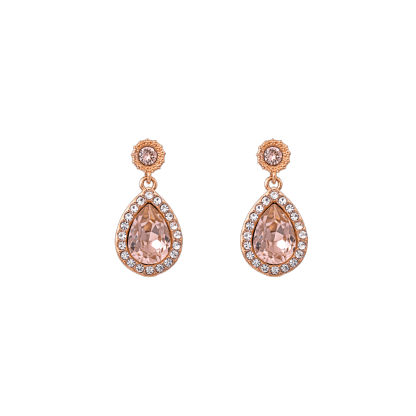 Miss Amy earrings - Vintage rose (Rose gold)