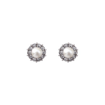 Miss Sofia pearl earrings - Créme