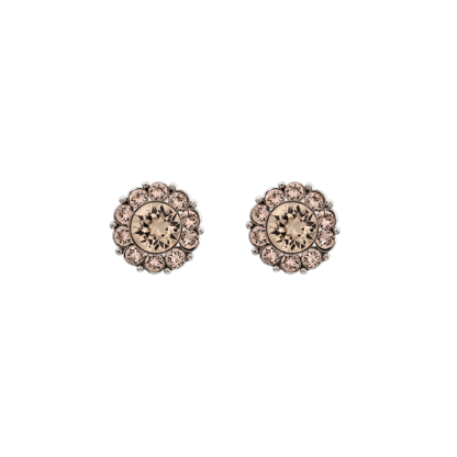 Miss Sofia earrings - Light silk (Silver)
