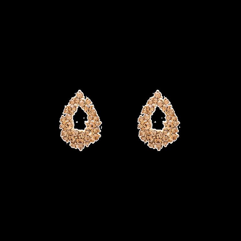 Petite Alice earrings - Light colorado topaz