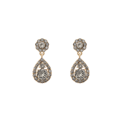 Petite Sofia earrings - Black diamond