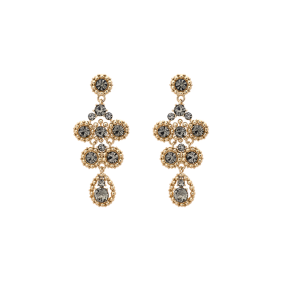 Petite Kate earrings - Black diamond