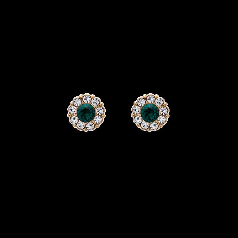 Petite Miss Sofia earrings - Emerald