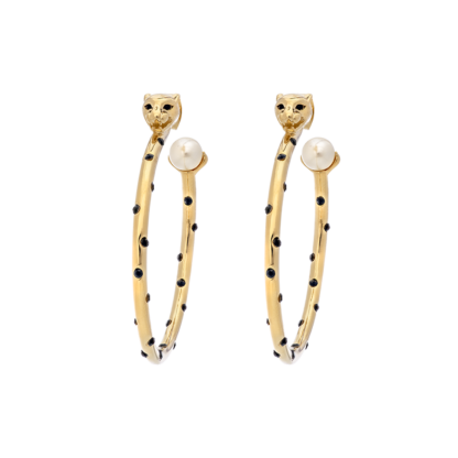Queen Sheba hoops earrings - Gold