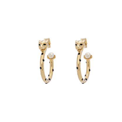 Petite Sheba hoops earrings - Gold