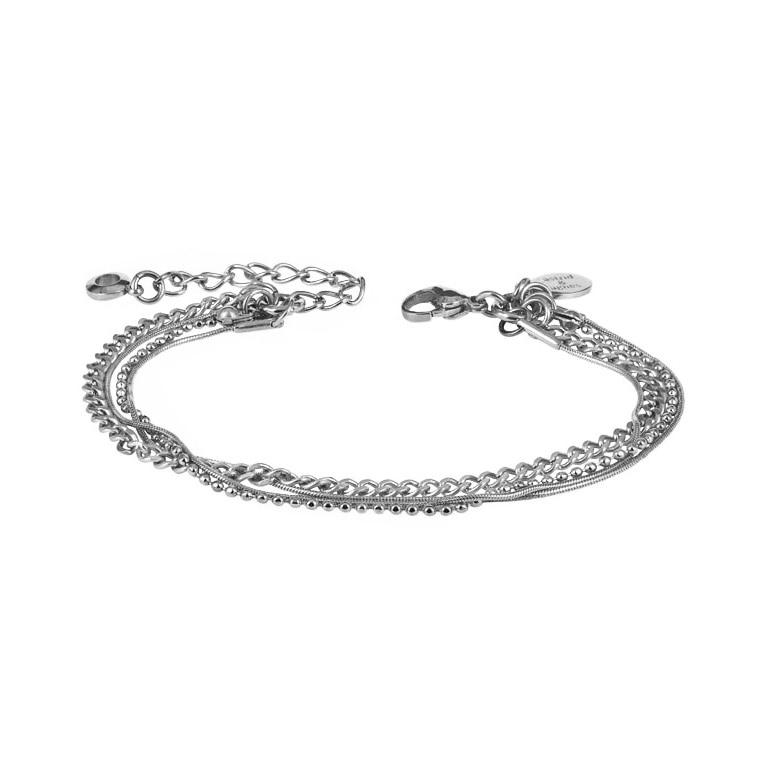 BETINA Armband stål