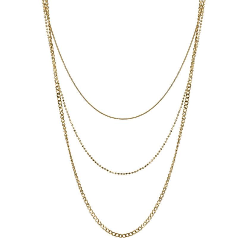 BETINA Halsband guld
