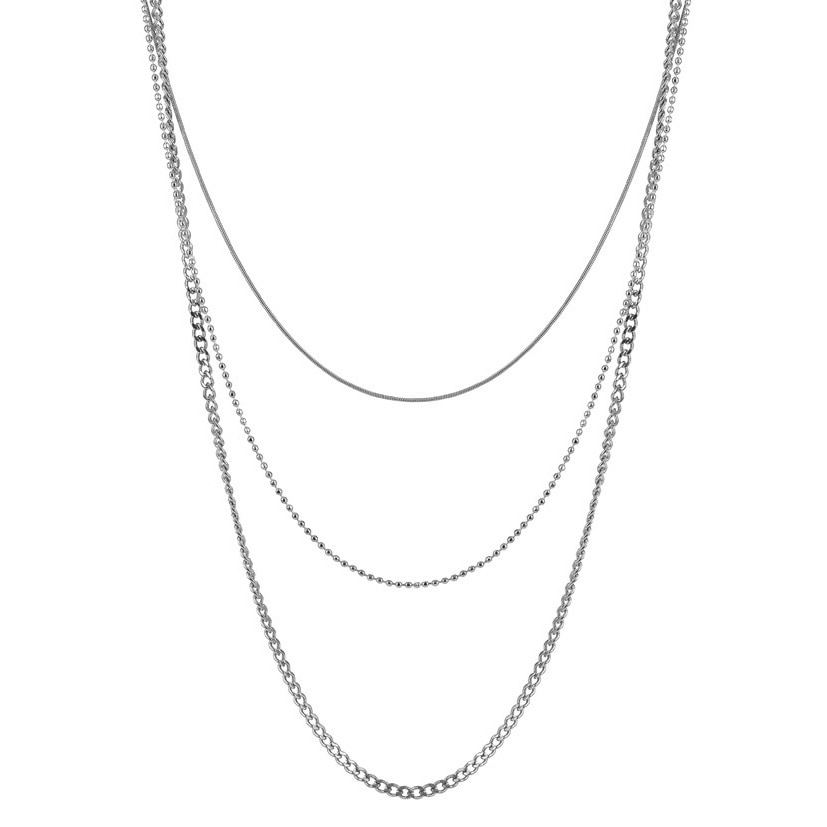 BETINA Halsband stål