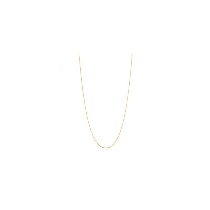 Gold Plated Silver Chain (40cm)