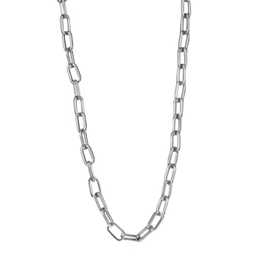 CHANIA Halsband stål 84 cm