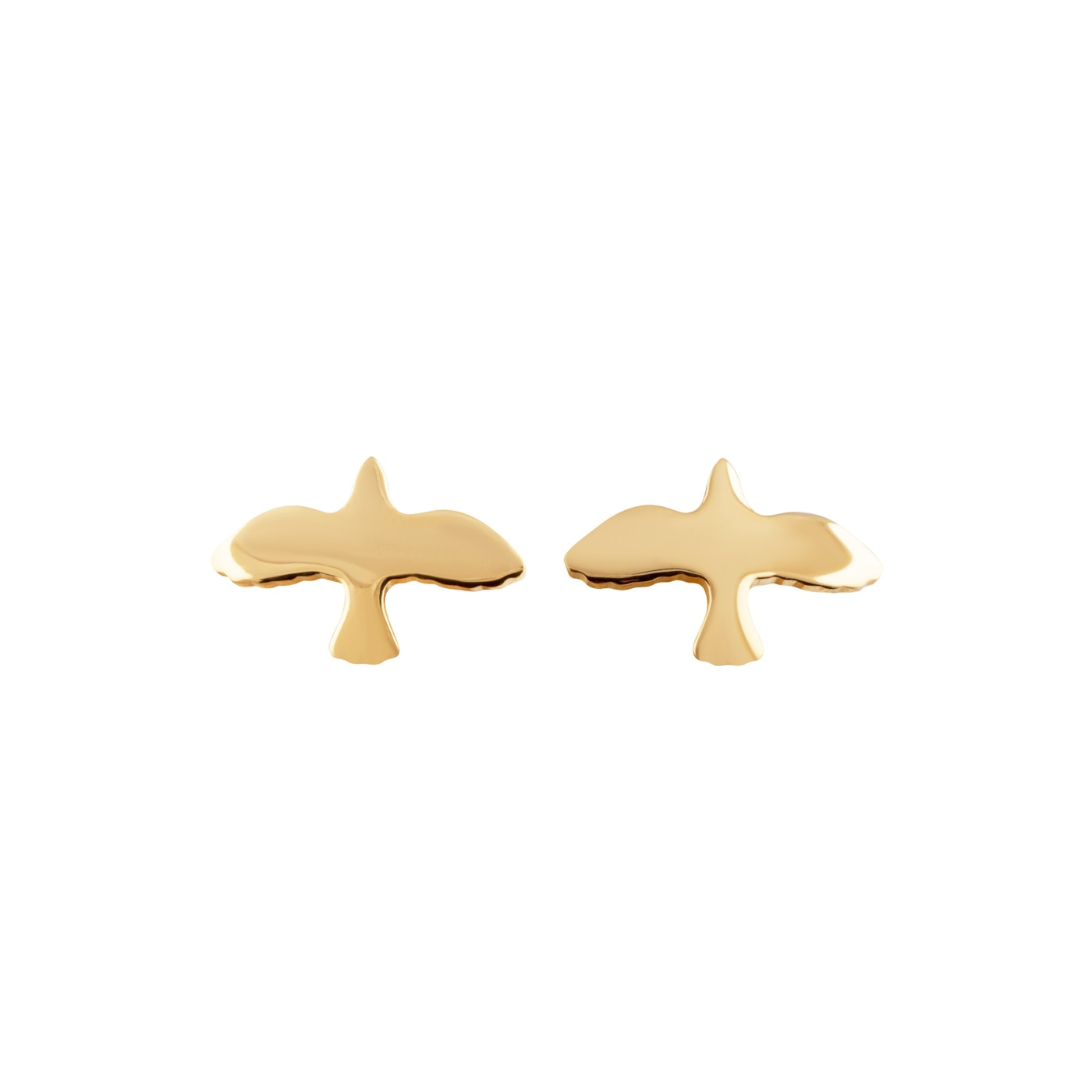 Dove-pin-earrings-gold