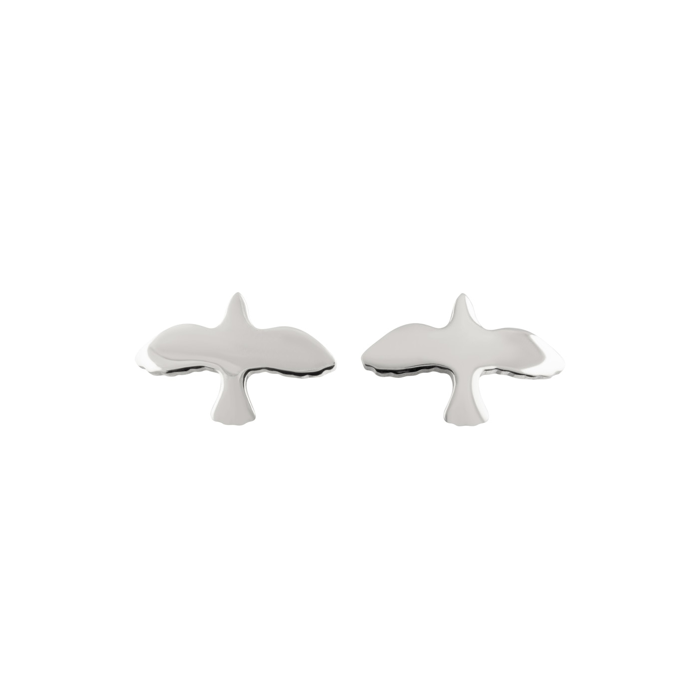 Dove-pin-earrings-silver