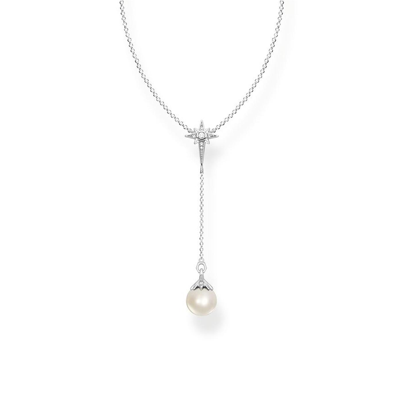 Halsband Pärla Silver