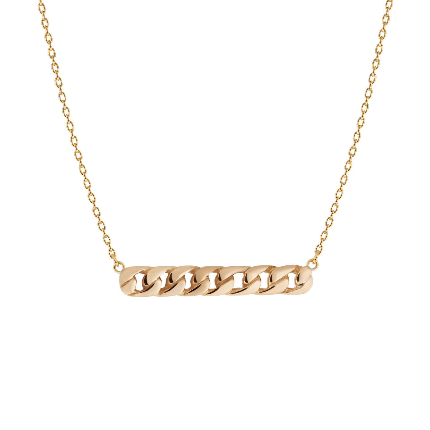 Link-necklace-golden