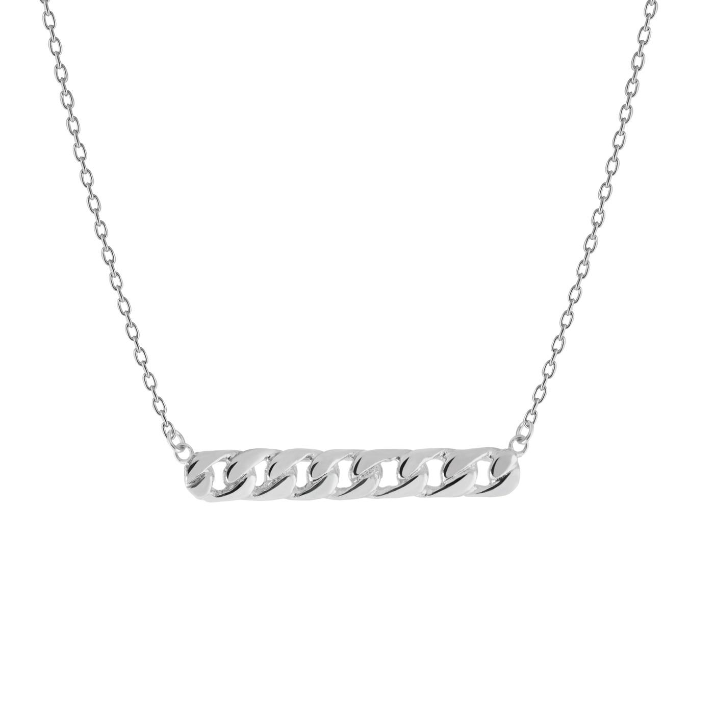 Link-necklace-silver
