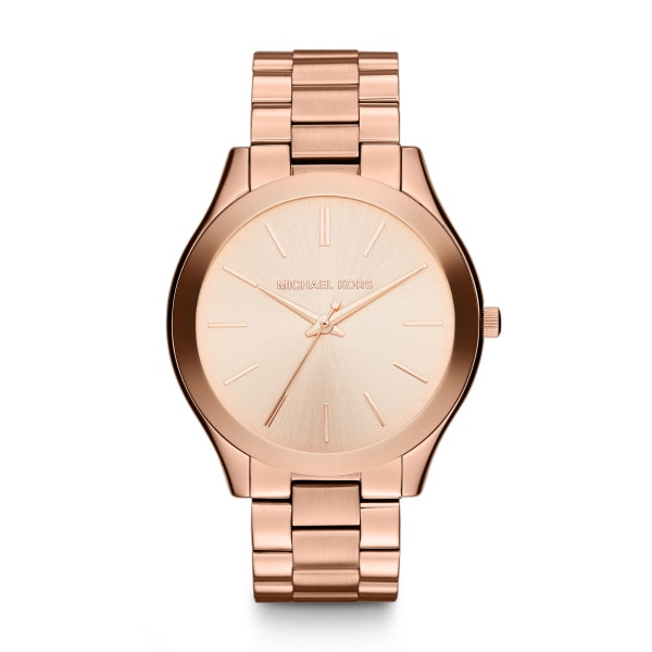 Slim runway rose gold