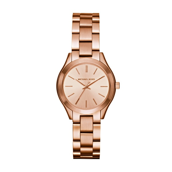 Slim runway Rose gold-tone