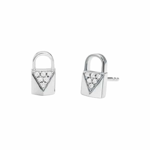 Premium earrings lock