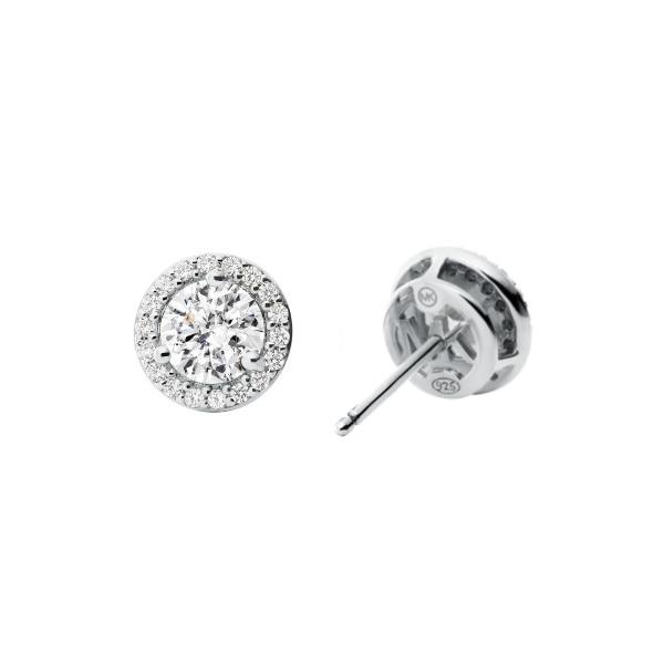 Stud earrings silver