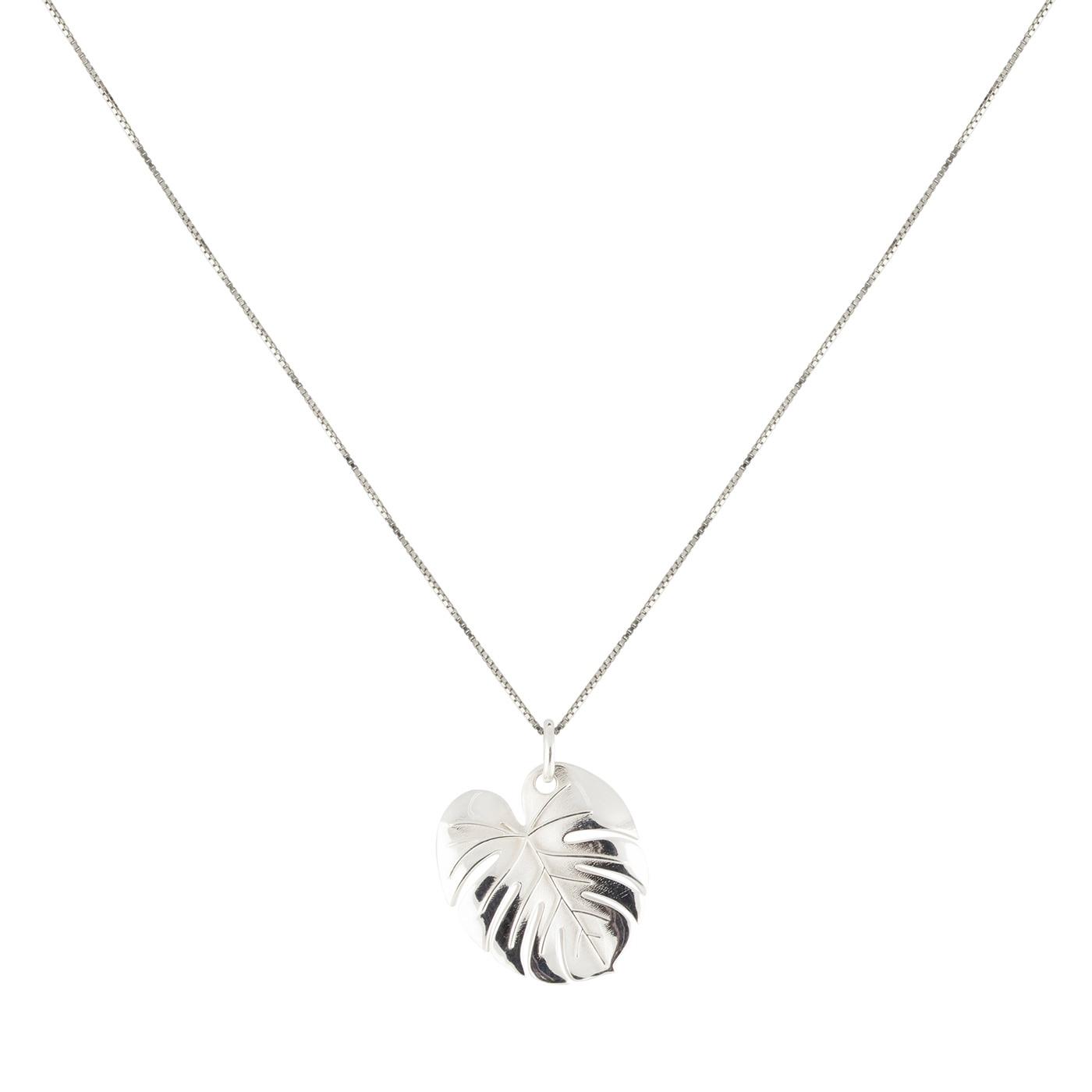Palm-Leaf-necklace-silver