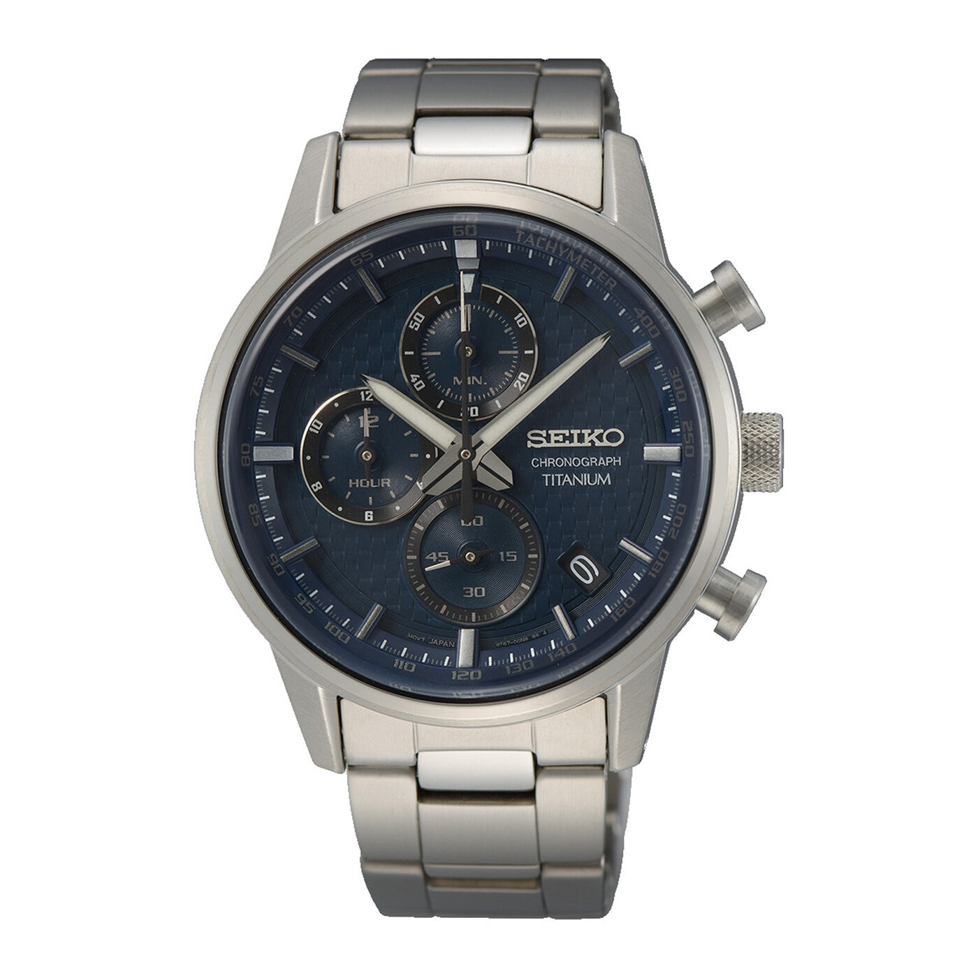 Herrklocka titanium chronograph