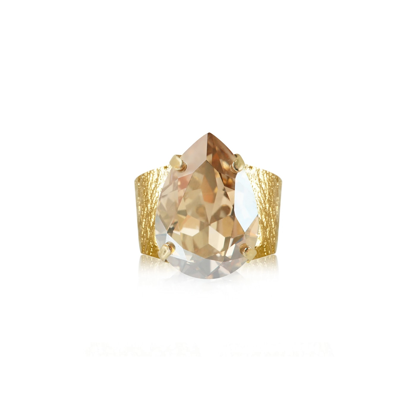 Classic Drop Ring Gold Golden Shadow