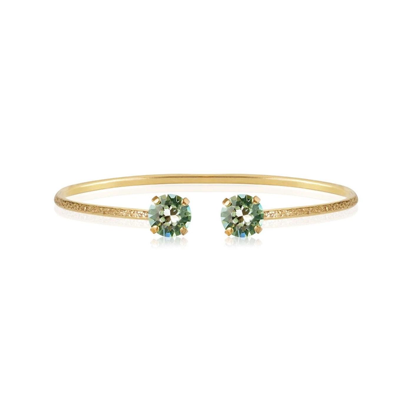 Classic Petite Bracelet Gold Chrysolite