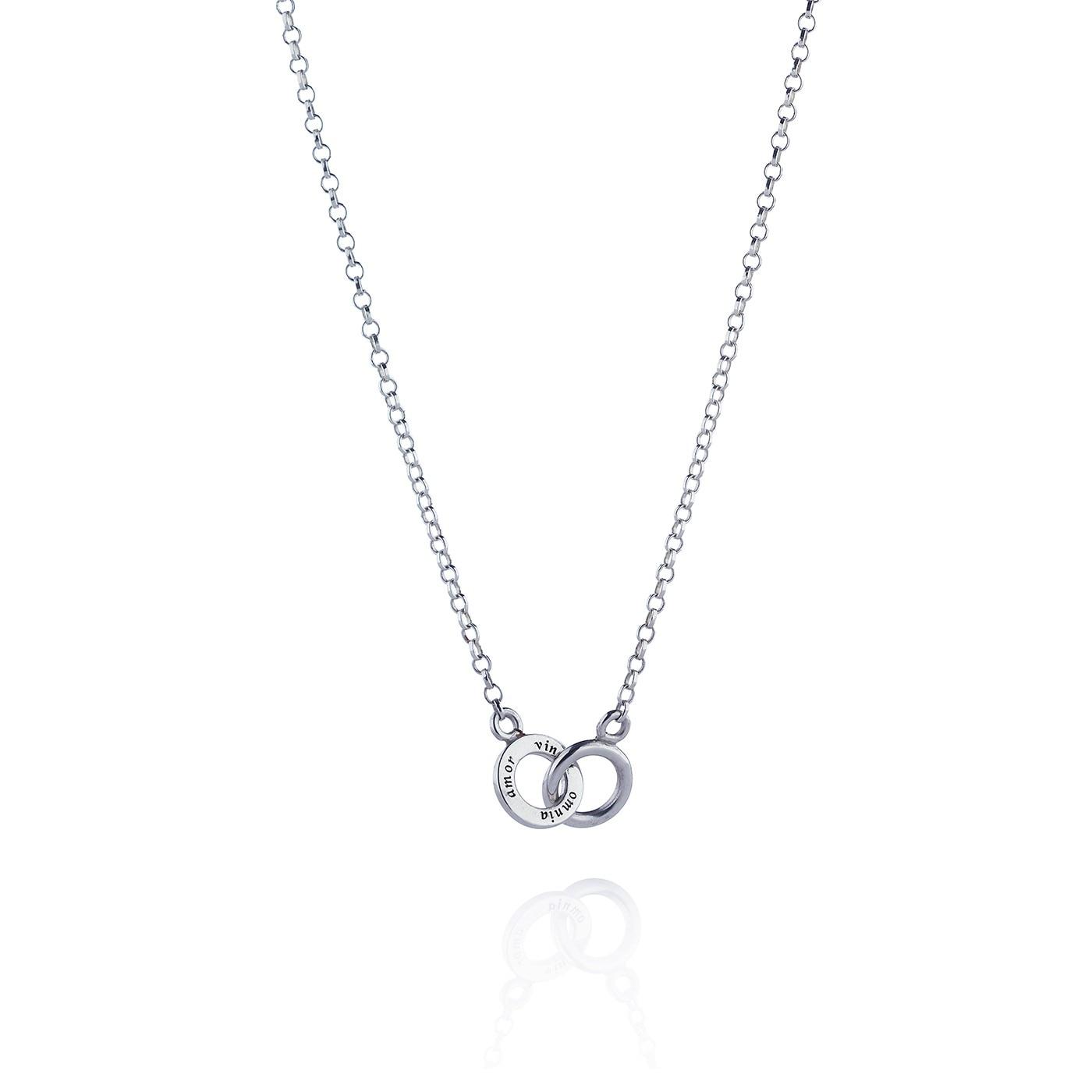 Mini Twosome Necklace