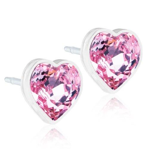 MP Heart 6 mm, Light rose