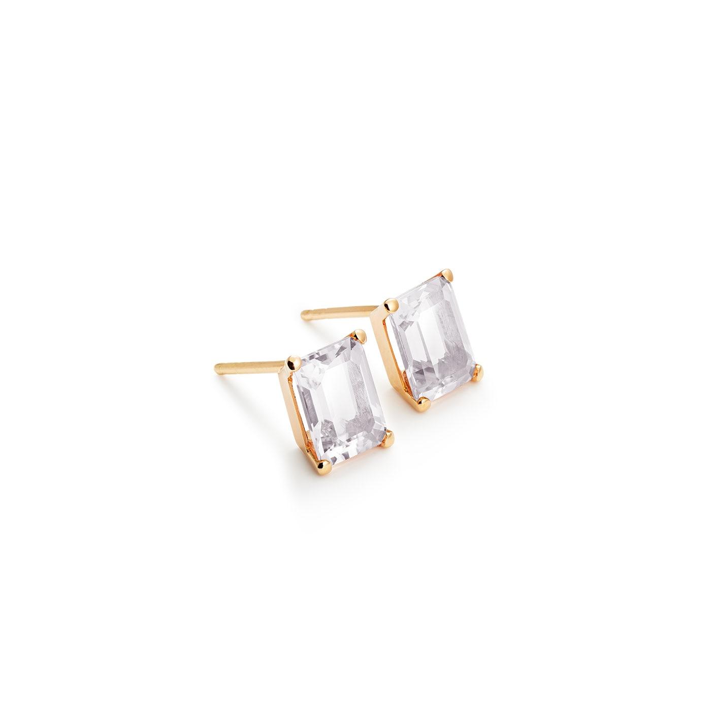 Pixie örhängen 18K bergkristall