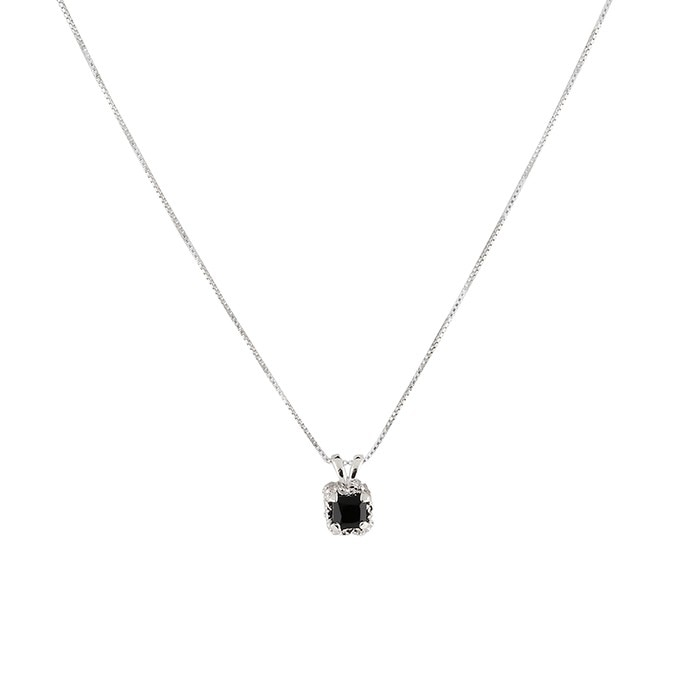 square_spinel_necklace_silver